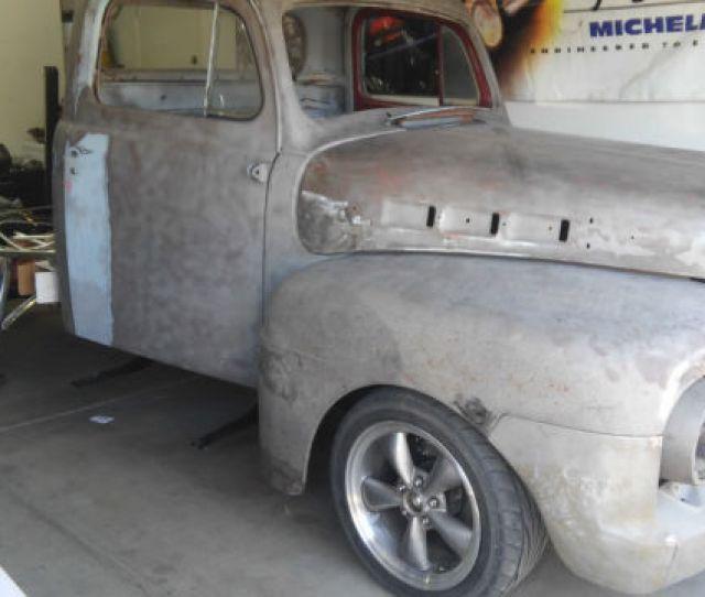 1952 Ford F 100 F100 Project Rust Free Rebuilt 429ci C6 Tranny Custom Truck