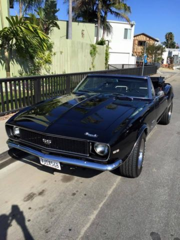 1967 Camaro Black : camaro, black, Camaro, RS-SS, Block, Black, Convertible, Speed, Manual, Sale:, Photos,, Technical, Specifications,, Description