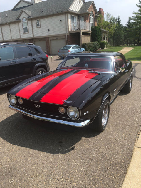 1967 Camaro Black : camaro, black, CAMARO, BLACK, BEAUTIFUL, Sale:, Photos,, Technical, Specifications,, Description