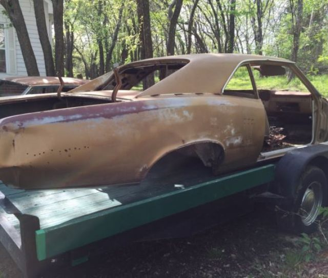 1967 Pontiac Lemans Gto Parts Car