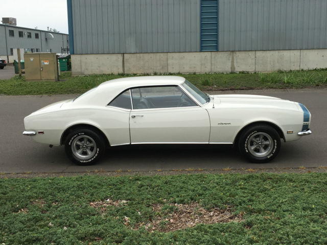 1968 Chevy Camaro Rs Ss 327 Matching Number Power Steering Factory