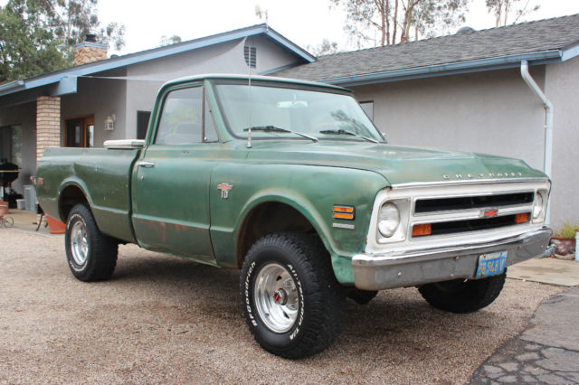 1968 Chevy 4x4 Pickup Truck For Sale