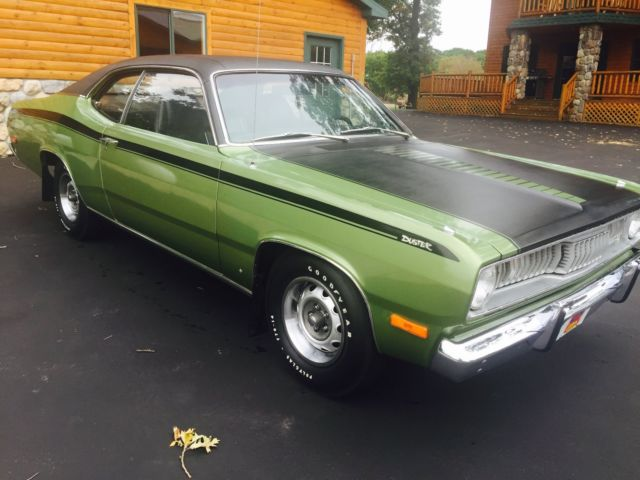 1972 plymouth duster 340 all original lots of paperwork