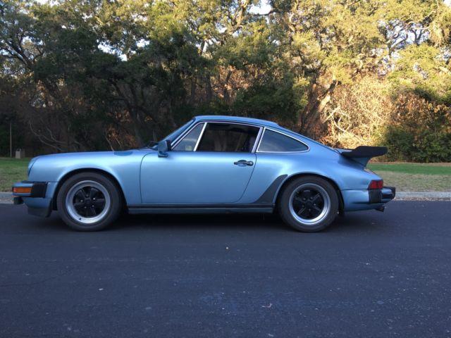 1979 Porsche 911SC Coupe Light Blue Metallic original