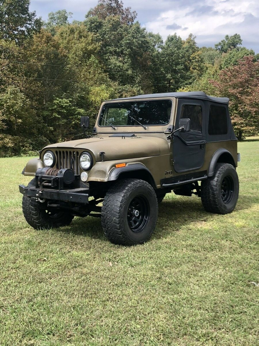 Forest Green Jeep : forest, green, Green, Manual, Sale:, Photos,, Technical, Specifications,, Description