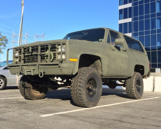 Chevrolet Blazer Military Cucv M For Sale Photos
