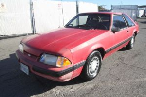 1990 Ford Mustang LX Automatic 4 Cylinder NO RESERVE for