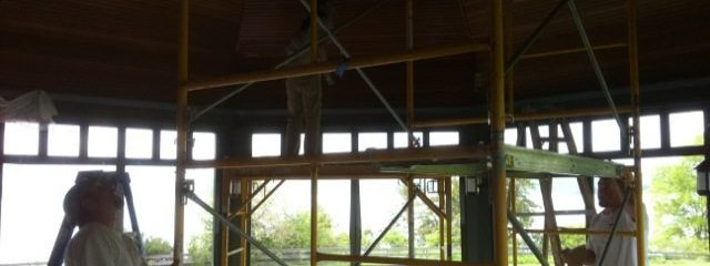 Screened Porch Wood Restoration – Lake Champlain