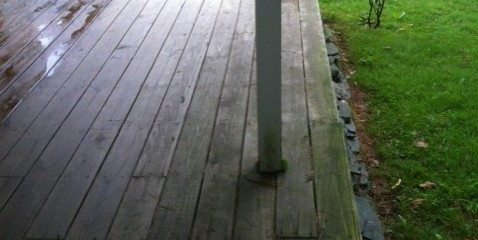 Weekend Project: Pressure Washing my Deck