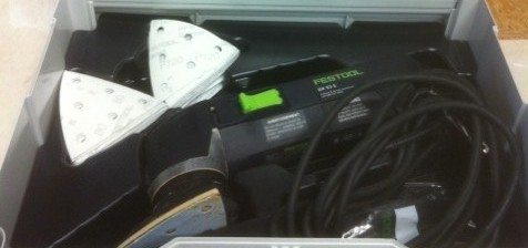 Tool of the Week: Festool DX93E Detail Sander
