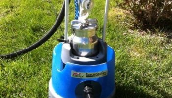 Spraying Arborcoat with a ProShot Fine Finish : TopCoatReview