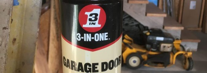 3-in-One® Garage Door Lubricant: Overhead Door Maintenance Tips
