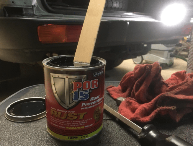 POR-15 Rust Preventative, because Rust Never Sleeps