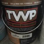 Pressure Treated Deck Maintenance with TWP – Total Wood Preservative