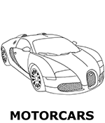 Motorcars images to color
