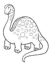 Coloring pages with dinosaurs, Tyrannosaurus Rex