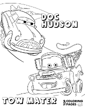 Cars coloring pages, sheets Sally Carrera, Lightning