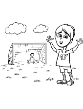 Football Coloring Pages Soccer Topcoloringpages Net