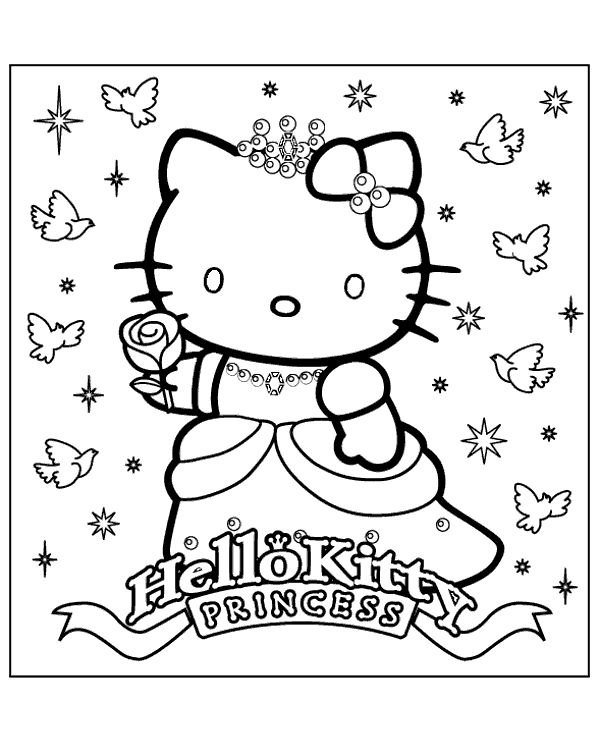 High Quality Hello Kitty Colouring Books 20 To Print For Free