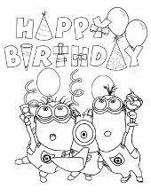 minion scarlet overkill coloring pages | Minions coloring pages,book for free to print