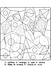 Cards to color for children