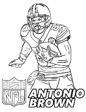 Coloring pages with famous people, actors, sportsmen