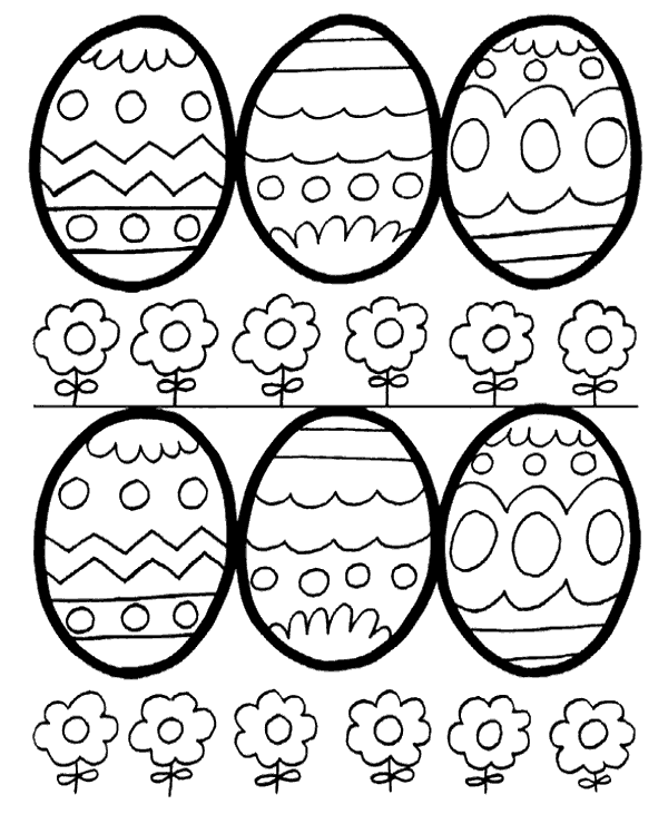 High-quality Easter colouring books 14 to print for free
