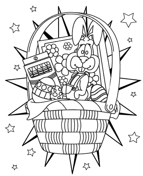 High-quality Easter colouring pages 25 to print for free