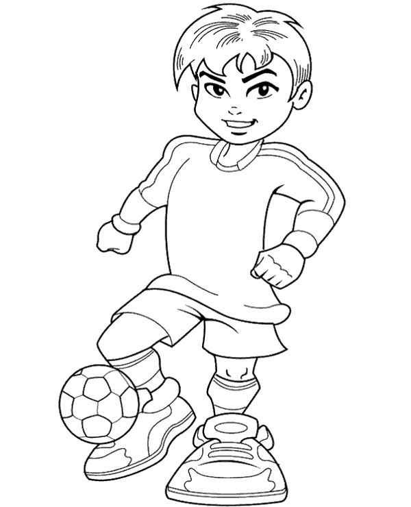 High-quality Football colouring books 20 to print for free