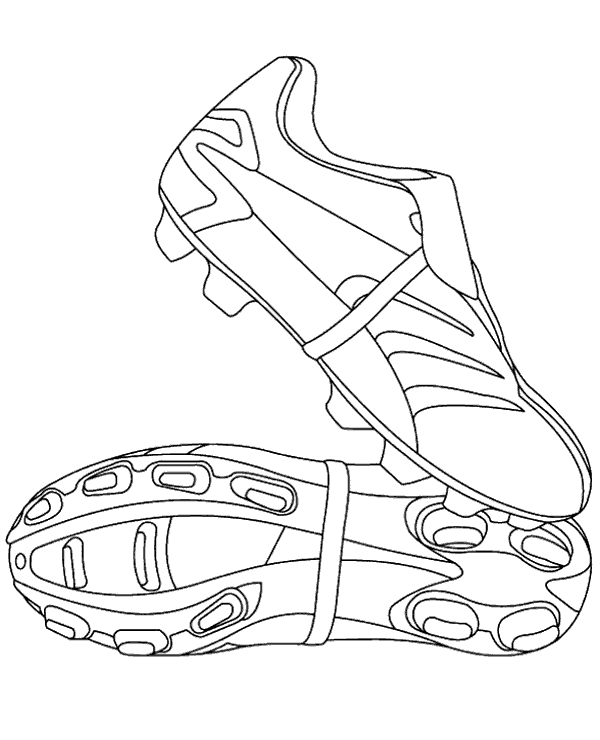 Football colouring pages 29 to print or download for free