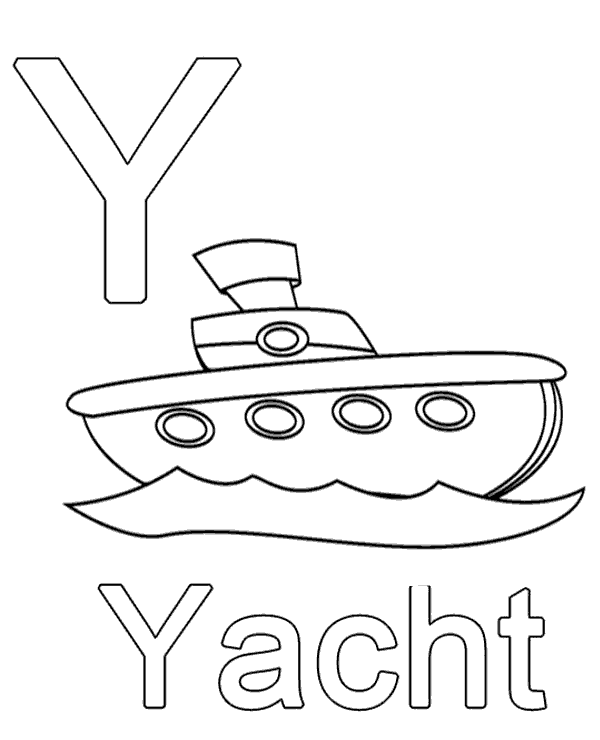 High-quality Letter y to print for free