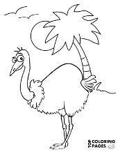 Bird coloring pages, sheets and printable pictures for free
