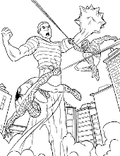 New Spider-Man coloring pages and printable pictures for kids
