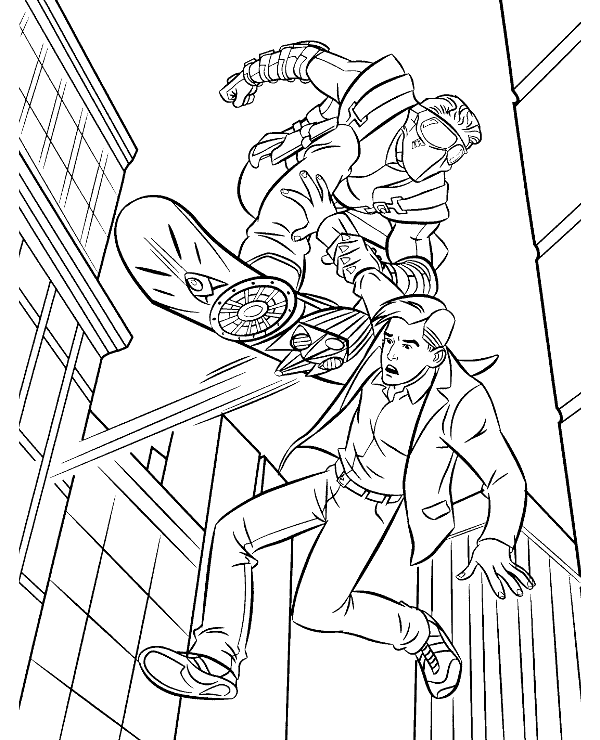 High-quality Spiderman colouring pages 26 to print for free