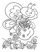 Butterflies for coloring