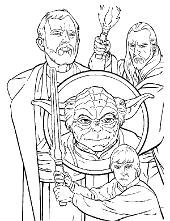 Star Wars printable coloring pages, books, Vader, Luke