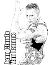 Kickboxer to color for free
