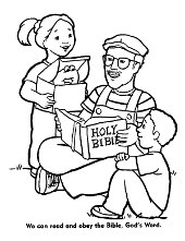 Christian coloring pages, sheets with Jesus Christ