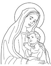 Christianity colouring pages