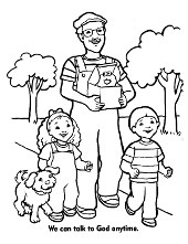 Christian coloring pages, books Christianity and Jesus Christ