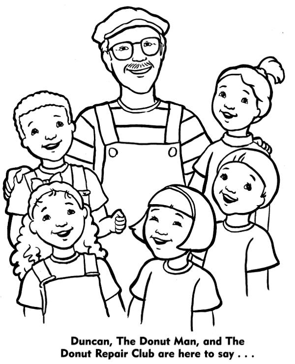 Catholic coloring page