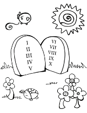 Decalogue for children