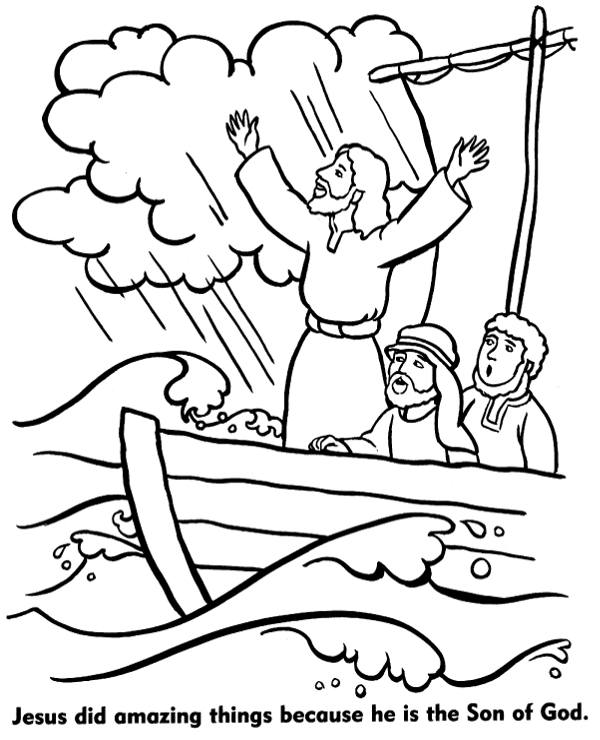 Miracles Of Jesus Coloring Pages : miracles, jesus, coloring, pages, Jesus, Coloring, Pages, Topcoloringpages.net