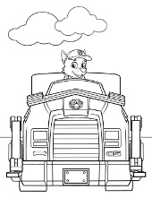PAW Patrol coloring pages, print free pictures for