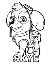 Free colouring page
