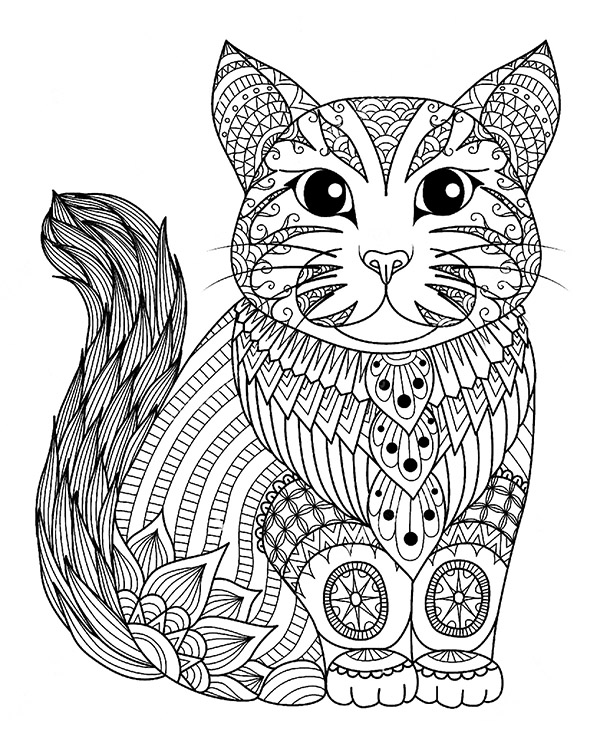relaxing coloring pages # 84