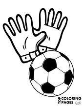Football, soccer coloring pages for children, Neymar match