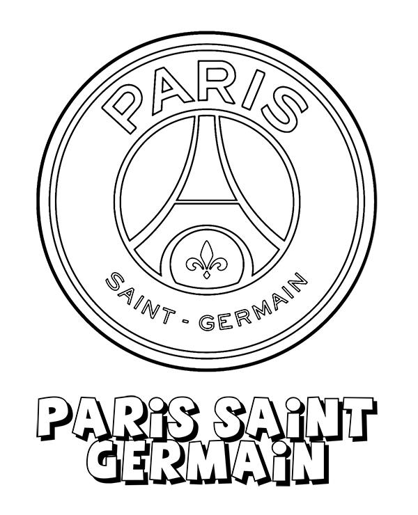 paris saint germain crest logo