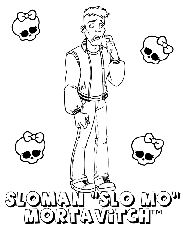 Mo Lang Coloring Pages Coloring Pages