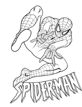 Peter Parker And Mary Jane Coloring Page Sketch Coloring Page